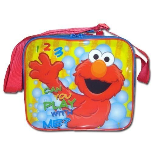Sesame Street Elmo Character Insulated Lunch Bag