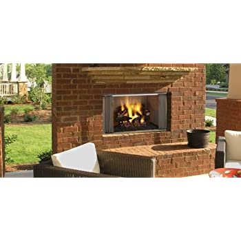 "36"" Outdoor Villawood Wood Fireplace w/Herringbone Refractory"