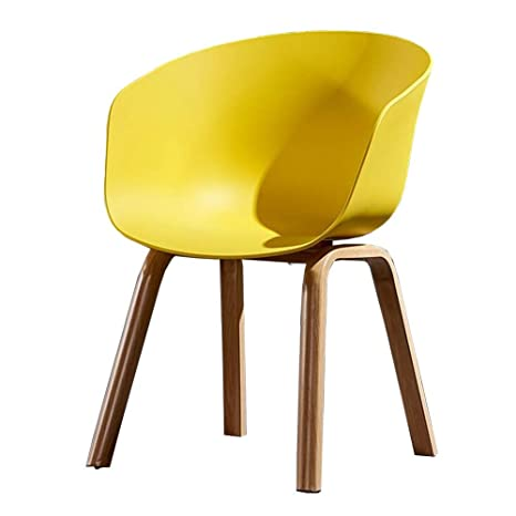 WYYY silla de Oficina Sillas De Comedor El Plastico Patas De ...