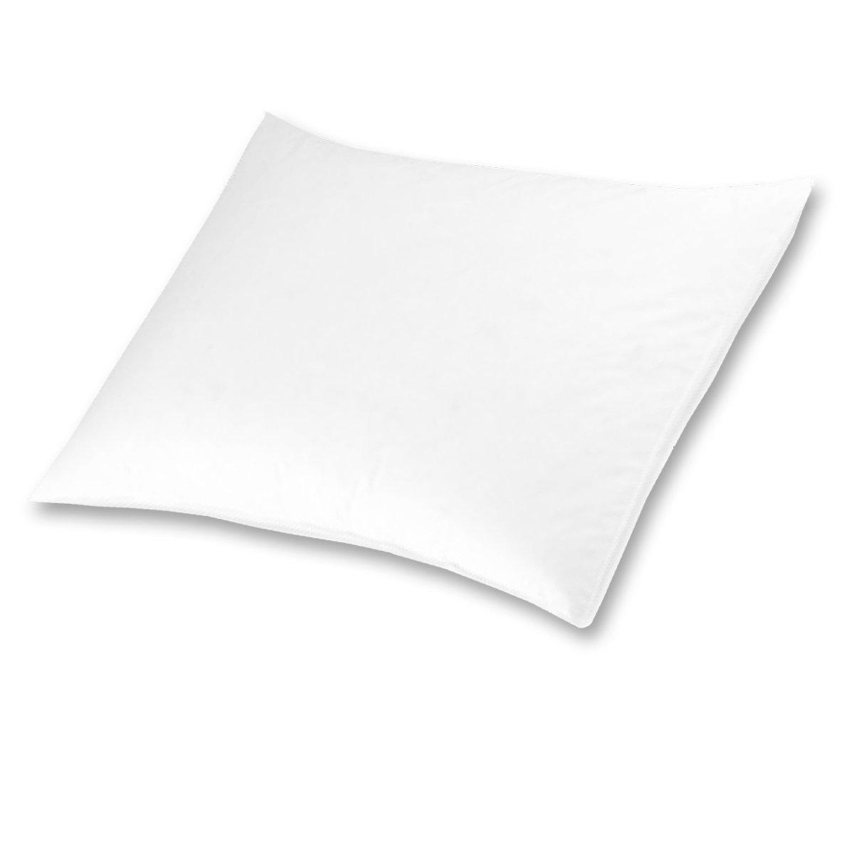 Heritage Premium White Goose Down Firm Density Queen Pillow