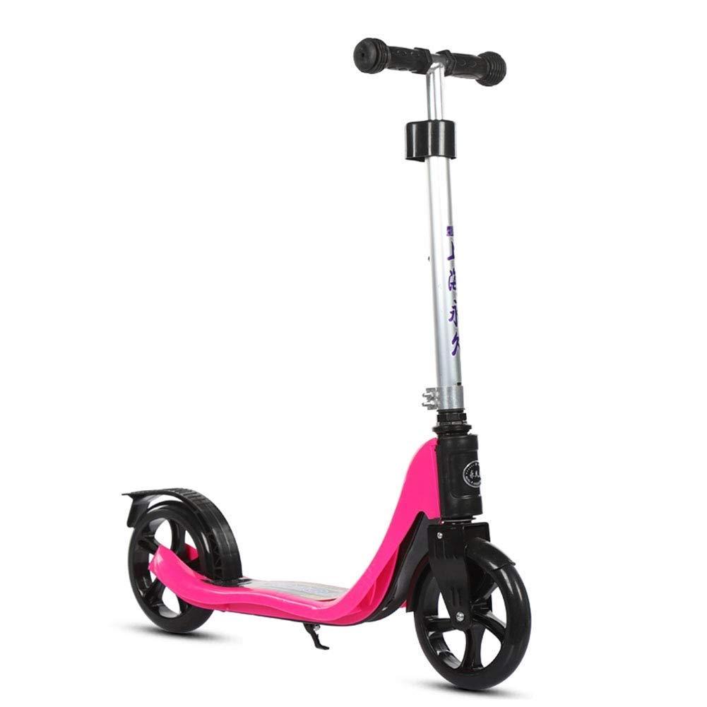 【完売】  スクーターを蹴る子供たち ジュニアスクーター ピンク (色、二輪スクーター、成人用スクーター (色 : : ピンク) B07R5X245H ピンク, 七宗町:85636ade --- 4x4.lt