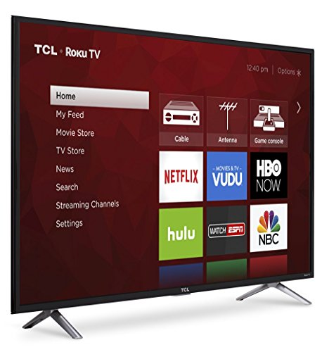 TCL 49S405 49-Inch 4K Ultra HD Roku Smart LED TV (2017 Model) by TCL (Image #3)