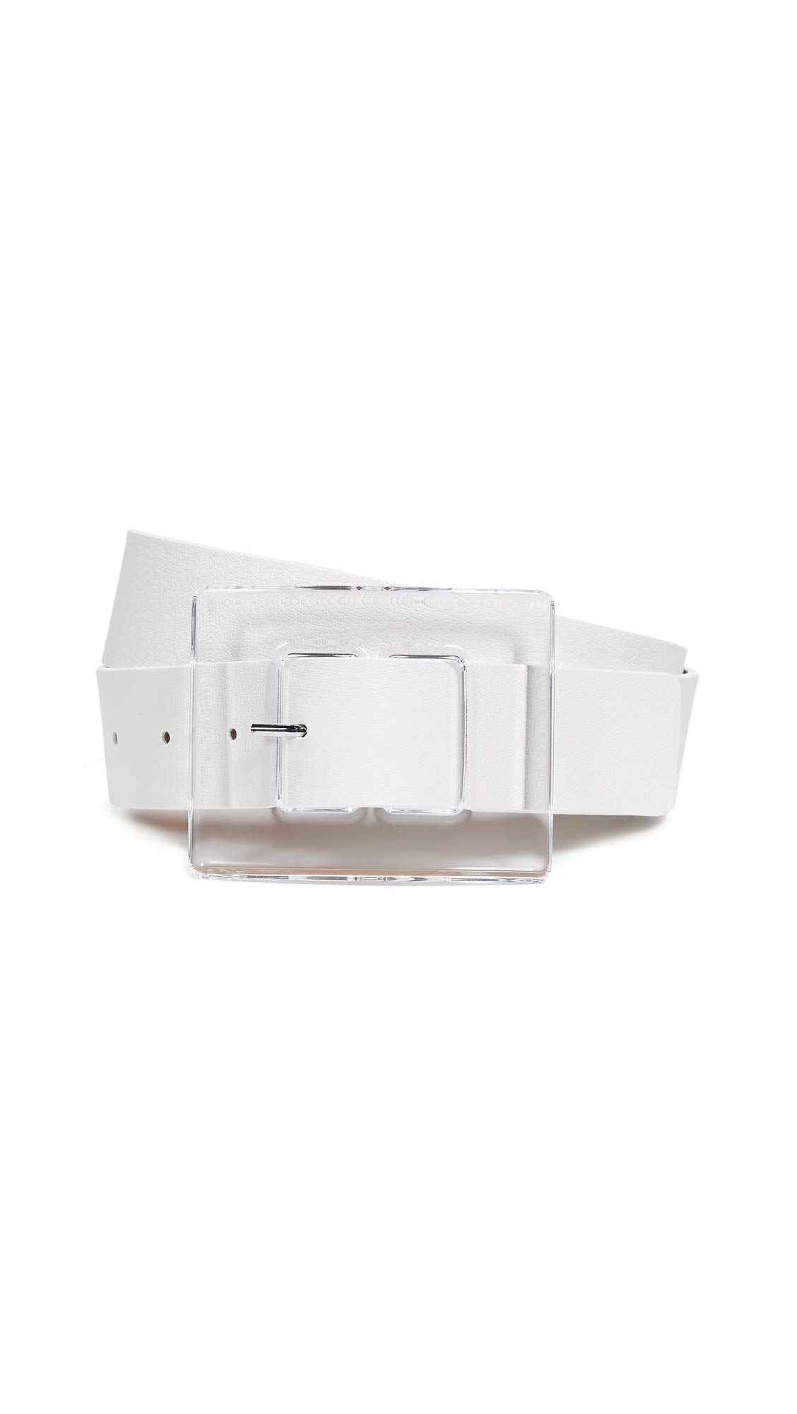 B-Low The Belt Women's Chloe Belt, Gesso, White, Clear, Small