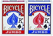 Bicycle Standard and Jumbo Playing Cards - Single Deck, 2 Pack, 4 Pack, 12 Pack - Poker, Rummy, Canasta, Pinoc