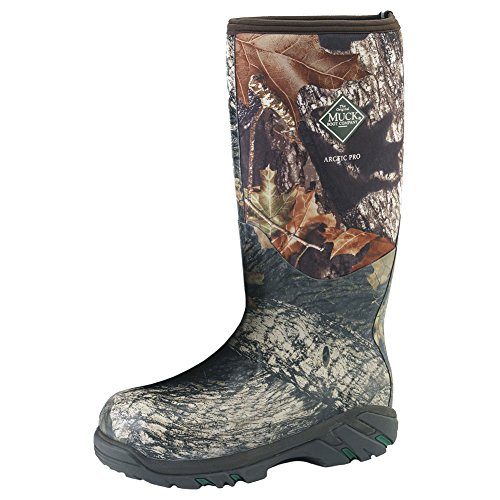 Muck Boots Arctic Pro Camo Mossy Oak - Men's 6.0, Women's 7.0 B(M) US by Muck Boot