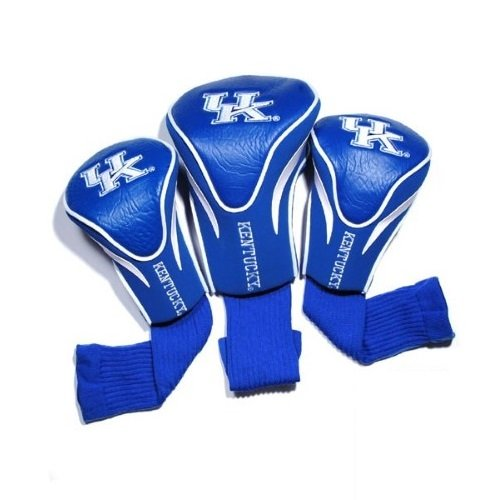 NCAA Kentucky Wildcats 3 Pack Contour Head Covers -