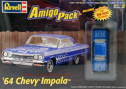 - Revell 1/24 Scale 1964 Chevy Impala