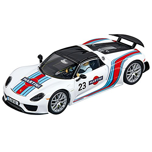 Carrera Evolution - 20027467 - Voiture De Circuit - Porsche 918 Spyder - Martini Racing No.23