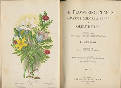 Grasses, Sedges & Ferns of Great Britain and Their Allies the Club Mosses, Horsetails, &c. COMPLETE 12 ISSUES (FOUR VOLUMES) in ORIGINAL WRAPPERS. ()