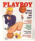 April 1989, Playboy Magazine - Vintage Men's Adult Magazine Back Issue - Girls of the Big East
