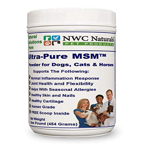 Ultra-Pure MSM Powder for Pets - 1 lb Canister Made in The USA OptiMSM