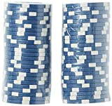 Brybelly 50 Blue Clay Composite Striped Dice 11.5