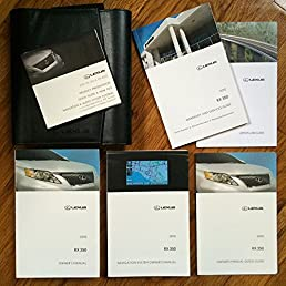 2010 lexus rx 350 rx 350 with navigation manual owners manual lexus rh amazon com 2010 lexus is 250 owners manual 2010 lexus rx 450h owner's manual