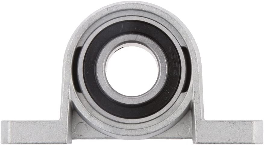 20mm Sharplace Al/ésage 8//10//12//15//20//25mm M/étallique Roulement /à Billes Alignement Automatique Roulement avec Base Support