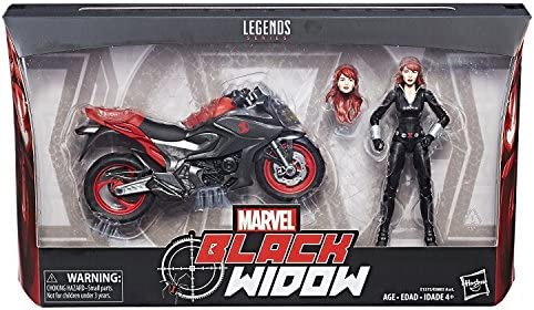 Film, TV & Videospiele Hasbro Marvel Legends Black Widow And Motorcycle 2018