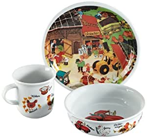 Arzberg bambini 4011707732787 vajilla infantil 3 piezas for Diseno piezas infantiles