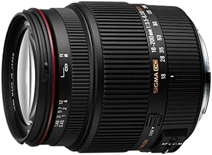 Sigma 18 200 Mm F3 5 6 3 Ii Dc Hsm Objektiv Für Sony Kamera
