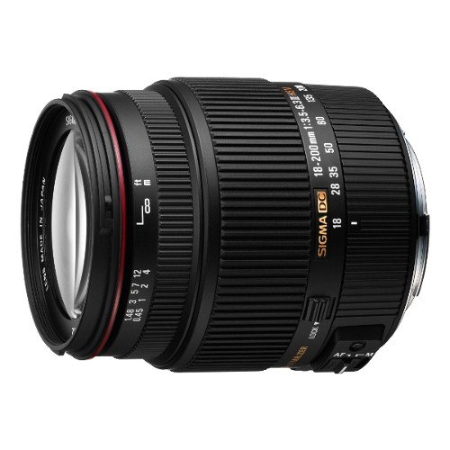 Sigma 18-200mm F3.5-6.3 II DC OS HSM Lens for Sony SLR Camera