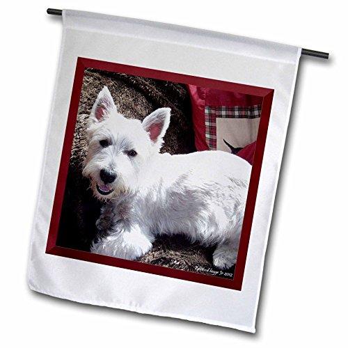 West Highland Blanket (3dRose fl_39514_1 West Highland White Terrier Garden Flag, 12 by 18-Inch)