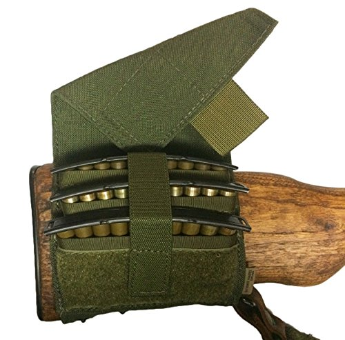 (Strike Hard Gear SKS Clip Buttstock Pouch (OD Green))