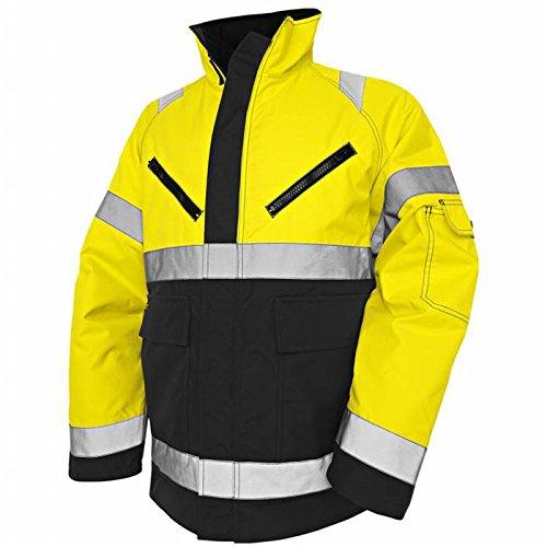 Blakläder Winterjacke High-Vis Klasse 3 Größe XXS in gelb/Schwarz , 1 Stück, , 482719773399XXS