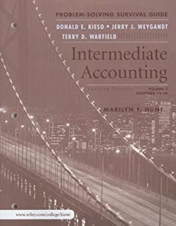 Intermediate accounting 12th edition donald e kieso jerry j intermediate accounting volume 2 problem solving survival guide fandeluxe Choice Image