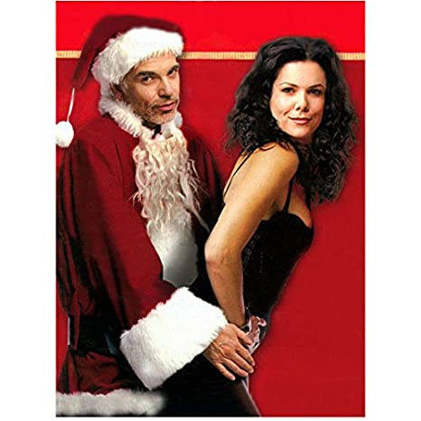 21f9fe3647bde Bad Santa Lauren Graham as Sue leaning back into Billy Bob Thornton as  Willie 8 x 10 Inch Photo at Amazon s Entertainment Collectibles Store