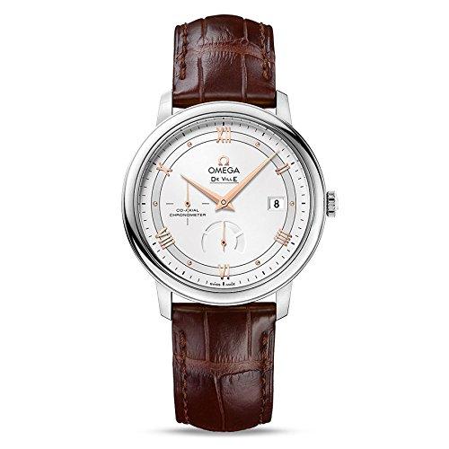 Omega De Ville Brown Leather Strap Men's Watch 424.13.40.21.02.002