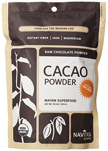 Organic Raw Cacao Power, Mayan Superfood, 16oz Pouches