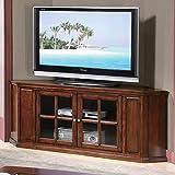 ACME Furniture 48618 Malka Corner TV Stand, Oak