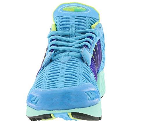 adidas Clima Cool 1, Scarpe da Ginnastica Uomo bright cyan-semi frozen yellow-purple (BA7157)