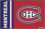 "FANMATS 19267 Montreal Canadians Uniform Starter Rug, Team Color, 19"""