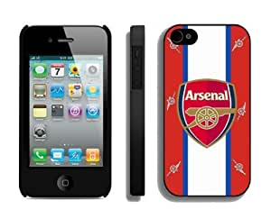 Designer Case for Iphone 4s Arsenal Team 3 Best Soccer Iphone 4 Cover Mobile Phone Accessories