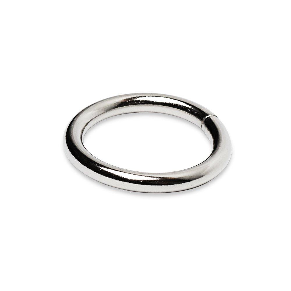 Rundringe 27mm x 3,7mm Stahl vernickelt O-Ringe Rundring O Ring O-Ring 50 St