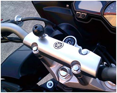 Ram Mounting Systems Motorad Halterung M8 Bolzen Lenkerstange Klemme Befestigung 2 5cm Kugelhalterung Ram Mounts Auto