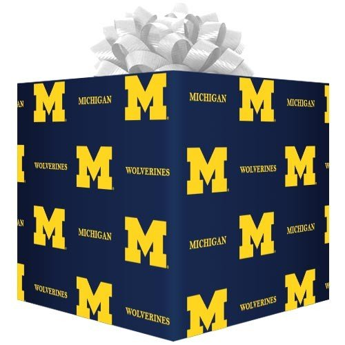Michigan Wrapping Paper Michigan Wolverines Wrapping Paper