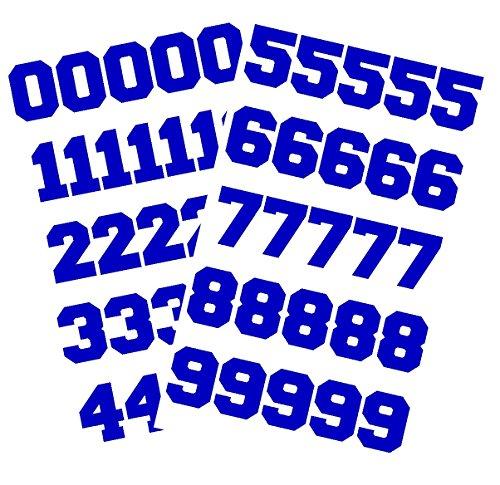 (Chalkallaboutit Sports Helmet Numbers 1