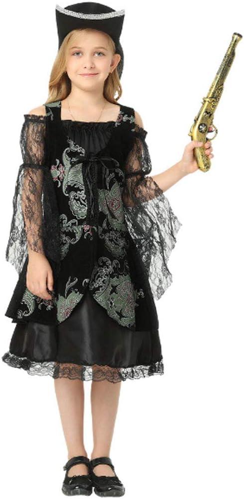 DONGBALA Ropa Pirata De Halloween, Vestido De Niña Traje De ...