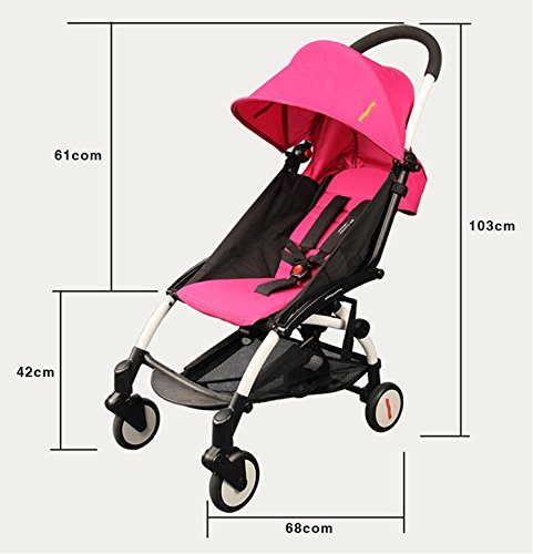 foldable aluminum Luxury baby landscape stroller 3 in 1 ,prams stroller travel and pushchairs by vory (Image #1)
