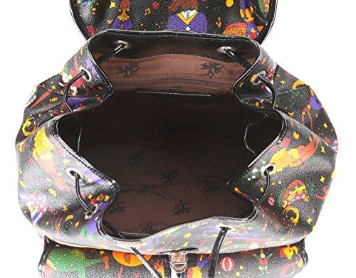 Grande 215c74030 Zaino Piero Circus Guidi Tasche Donna Nero Magic Con PRR8BOq