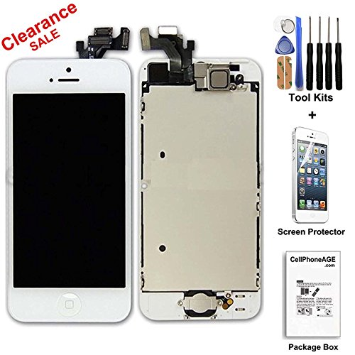 iphone 5 lcd digitizer - 5