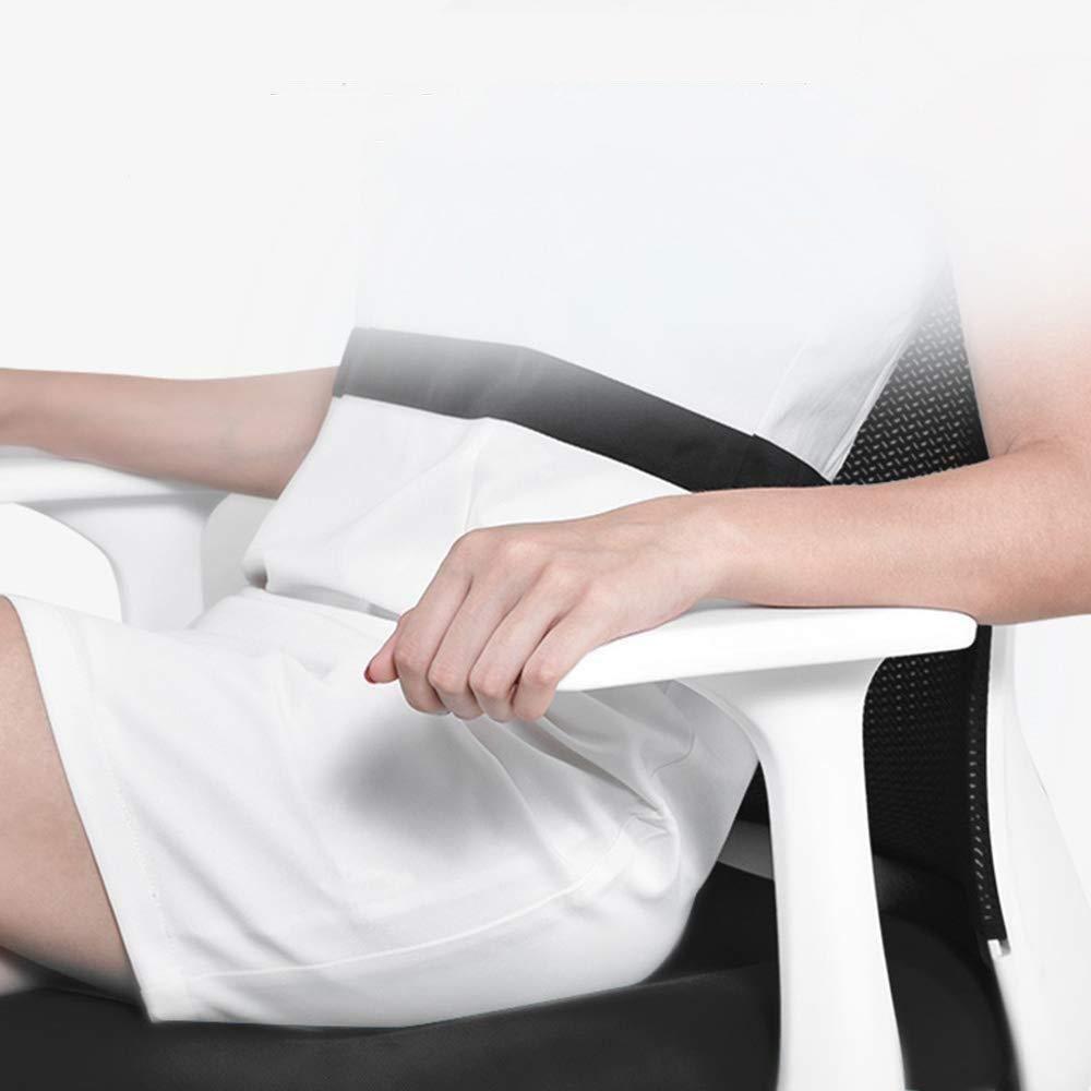 THBEIBEI Hem Kontor Skrivbordsstol Svängbar Stol Spel Stol Datorstol Uppgift Stol Fixerad Armstöd 3D Stereo Kudde Andas Nät Lager Vikt 200 kg (Färg: Blå) gRÖN