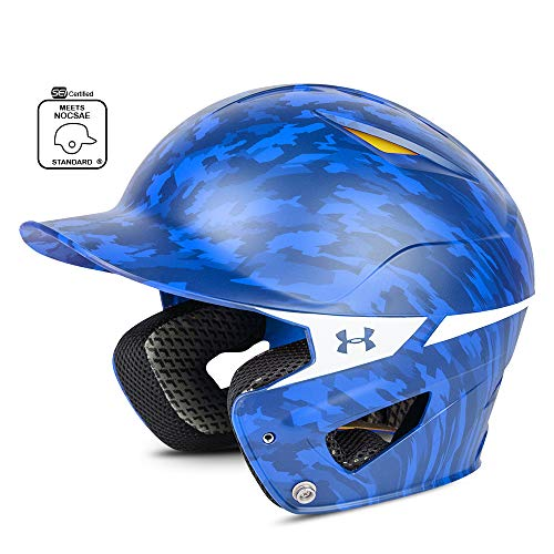 (Under Armour Baseball UABH2 110-MP: RO Converge Batter's Digi Camo Helmet, Royal Blue, Youth )