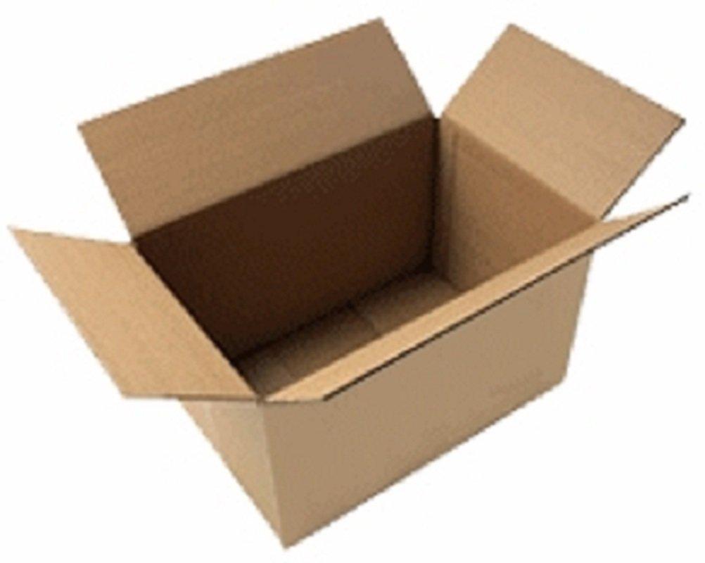 25 Caisses américaines (cartons) : 300 x 200 x 170 mm simple cannelure