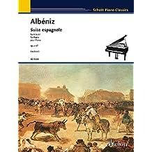 Suite Espagnole, Op. 47: Piano Solo