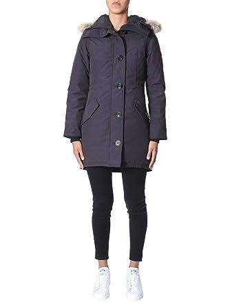 new arrival 93edf f60d7 Canada Goose Luxury Fashion Donna 2580L67 Blu Cappotto ...