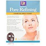 Daggett & Ramsdell pore refining charcoal sheet mask boxed, 1 Count