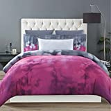 Christian Siriano Botanical Ombre King 3 Piece Comforter Set