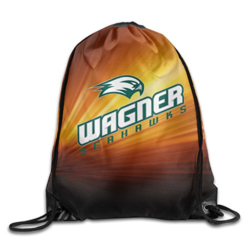 GYM Wagner College Seahawks Drawstring Backpack Bag