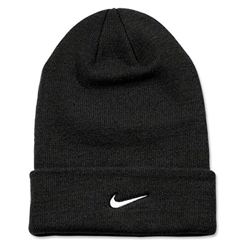 Nike Adult Unisex Stock Cuffed Knit Beanie (Black)